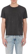 R 13 Men's Destroyed Pima Cotton T-Shirt-BLACK