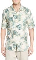 Tommy Bahama 'Aqua Fresca' Original Fit Short Sleeve Silk Sport Shirt