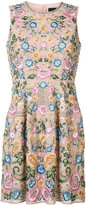 Needle & Thread floral pleated dress - women - Polyester - 6