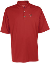 Antigua Men's Texas Tech Red Raiders Exceed Desert Dry Xtra-Lite Performance Polo