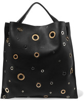 Jil Sander Embellished Leather Tote