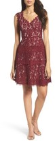 Adrianna Papell Women's Cynthia Lace Fit & Flare Dress