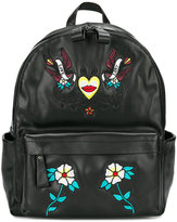 John Richmond Kids tattoo style patches backpack