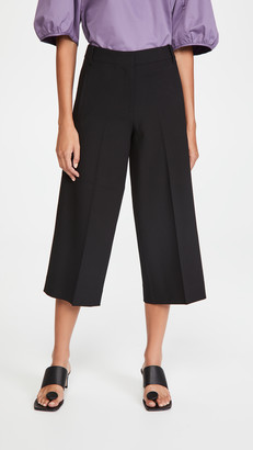 Tibi Anson Wide Leg Pants