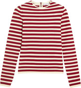Sonia Rykiel Striped Knitted Sweater - Red