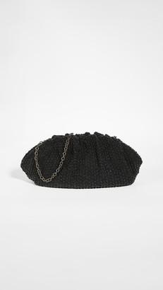 Santi Oversized Black Clutch