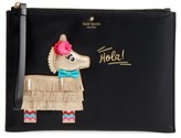 Kate Spade Pinata Applique Medium Bella Pouch - Black