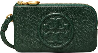 Tory Burch Perry Bombe Leather Card Case