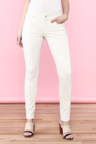 Eileen Fisher Off-White Skinny Jean