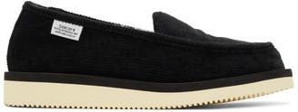 Suicoke Black SSD-CoMab Loafers