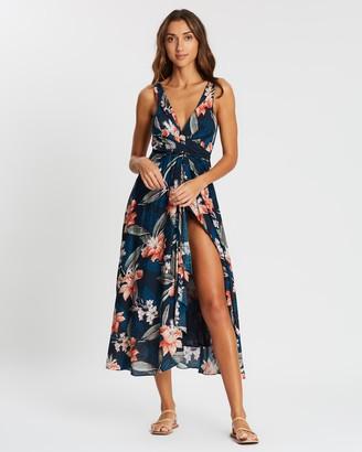 Jets Serendipity Wrap Dress