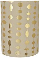 "BEIGE Aspen Creative Corporation 31254 Drum Shaped Spider Lamp Shade, Beige, 8"" wide, 8""x8""x11"""