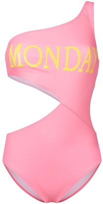 Alberta Ferretti Monday print swimsuit