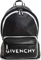 Givenchy Small Painted Logo Leather Backpack