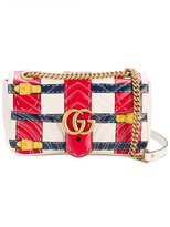 Gucci GG Marmont trompe l'oeil shoulder bag - women - Leather/metal - One Size