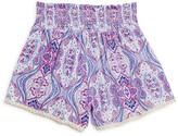 Vintage Havana Girls' Smock Waist Shorts