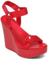 BCBGeneration Casper Nylon Platform Wedge Sandals