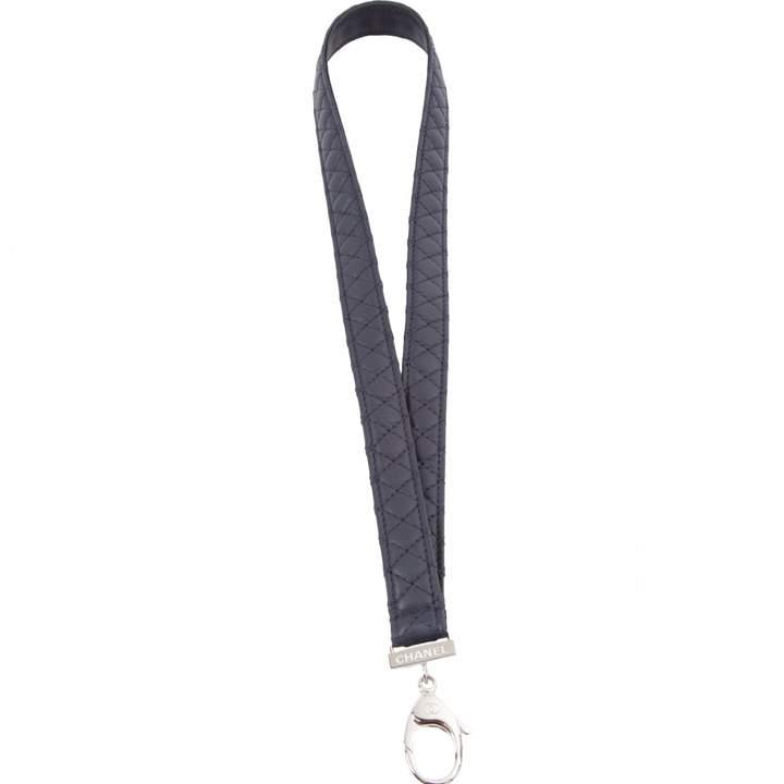 Chanel Matelassé leather bag charm