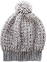 Stella McCartney Wool & Alpaca Rib Knit Beanie