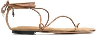 Isabel Marant Wraparound Strappy Sandals