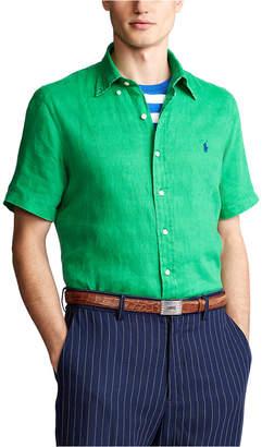 Polo Ralph Lauren Men Classic Fit Linen Shirt