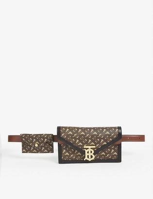 Burberry TB monogram envelope belt bag
