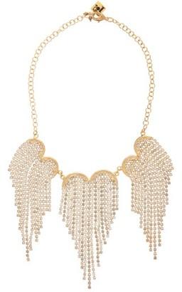 Rosantica Graffiti Crystal-fringing Necklace - Crystal