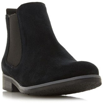 Dune London Prompted Fur Lined Chelsea Boots