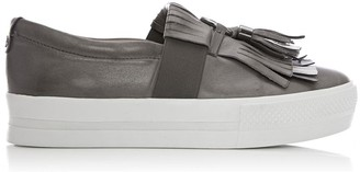 Moda In Pelle Ardena Dark Grey Leather