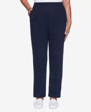 Alfred Dunner Women's Classic French Terry Proportioned Short Pant