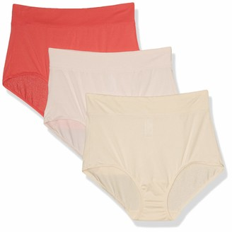 Warner's Warners Women's Blissful Benefits No Muffin Top Breathable Micro Brief Panties Multipack