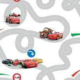 Disney Racetrack Wallpaper - Multicoloured