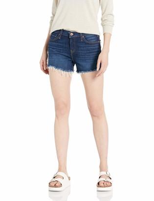 Hudson Women's Gemma Mid Rise Cut Off Jean Short