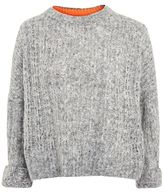 Topshop Soft neppy jumper