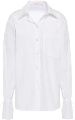 Carolina Herrera Cotton-blend Poplin Shirt