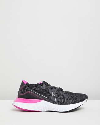Nike Women's Black Running - Renew Run - Women's - Size 6 at The Iconic