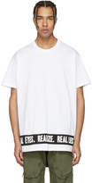 Givenchy White 'Real Eyes' T-Shirt