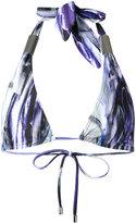 Mona - halter Phoenix bikini top - women - Polyester/Spandex/Elastane - S