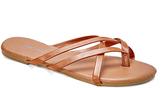Wet Seal Cognac Selene Sandal