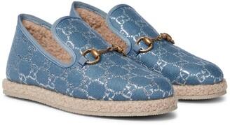 Gucci Horsebit GG loafers