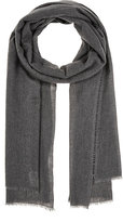 From The Road FROM THE ROAD MEN'S SIVA WHIPSTITCHED CASHMERE-MERINO WOOL SCARF