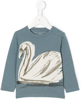 Stella McCartney swan print T-shirt - kids - Cotton - 12 mth