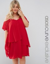 Asos Swing Dress with Soft Layers