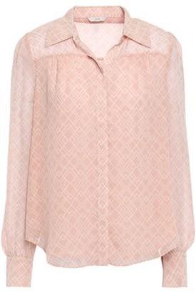 Joie Bimala Printed Silk-georgette Shirt