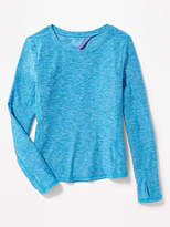 Old Navy Semi-Fitted Cutout-Back Performance Top for Girls