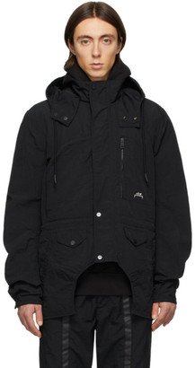 Diesel Red Tag Black A-Cold-Wall* Edition Overdyed Cut-Out Jacket