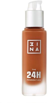3INA The 24H Foundation 30Ml 667 Ultra Dark Beige