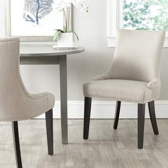 Mercer41 Carraway Upholstered Dining Chair Mercer41 Upholstery Color: Fabric Antique Gold