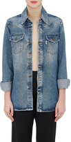 Off-White Off White Women's Western-Style Denim Blouse