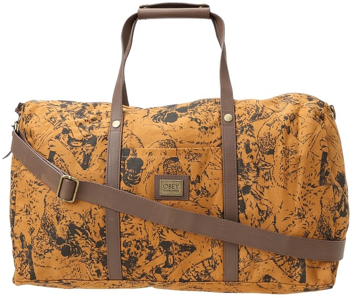Obey Wolf Pack Duffel (Cathay Spice) - Bags and Luggage